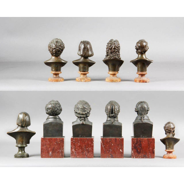 Interesting Collection of Ten Busts of Composers For Sale - Image 10 of 11