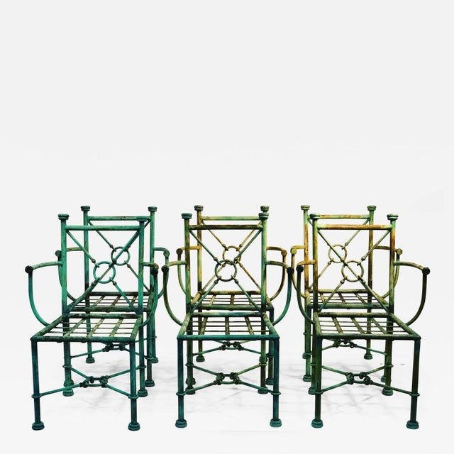 Giacometti Style Chairs - Set of 6 For Sale - Image 10 of 10