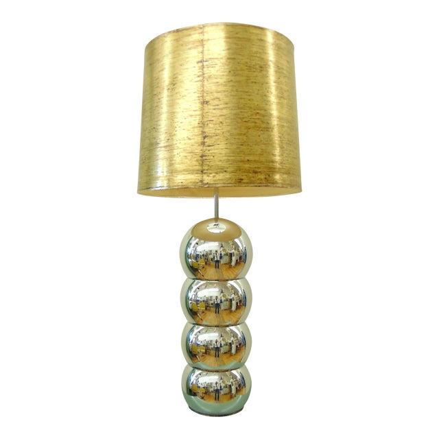 George Kovacs Stacked Chrome Ball Lamp - Image 1 of 7