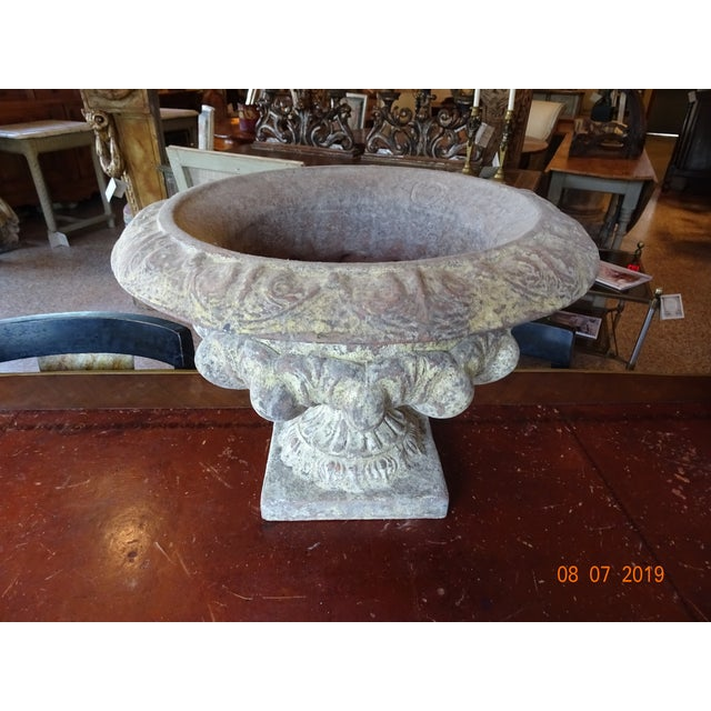 Pair of French Terra Cotta Jardinieres For Sale - Image 10 of 10
