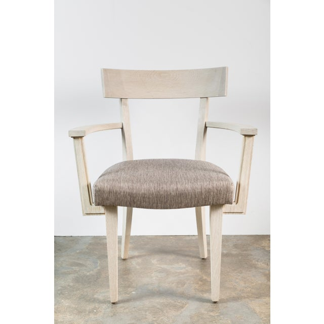 Beige Modern Klismos Chair by Paul Marra For Sale - Image 8 of 8