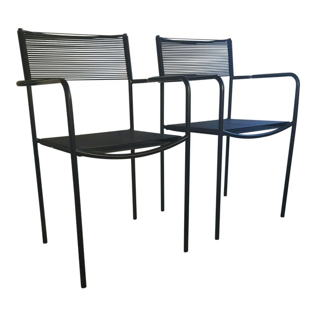 Giandomenico Belotti Alias Spaghetti Chairs - A Pair | Chairish