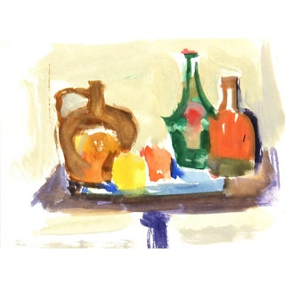 Colorful Tabletop, 1980sMadeleine Scali For Sale