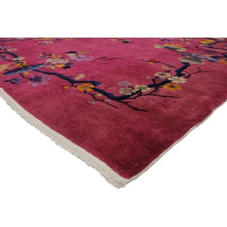 1920s Antique Chinese Art Deco Rug - 8′10″ × 11′7″ Preview