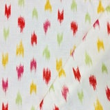 Image of Contemporary Brunschwig & Fils Bombay Ikat Linen Designer Fabric by the Yard For Sale