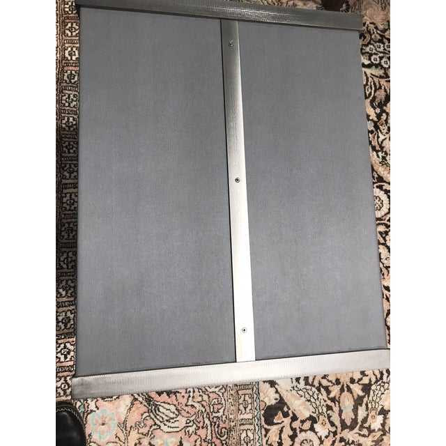 Contemporary Contemporary Grey Kravet Rubell Cube Table For Sale - Image 3 of 5