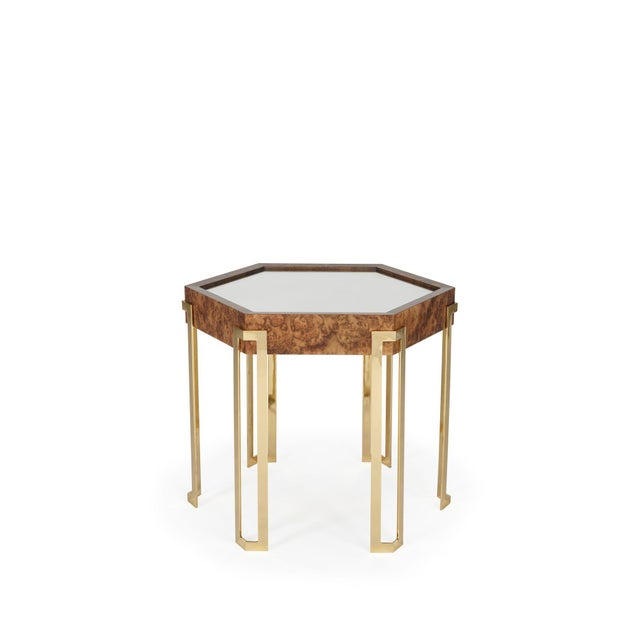 Barry Goralnick End Table From Ferrell Mittman For Sale - Image 4 of 4