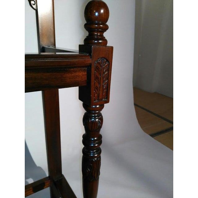 Chippendale Style Hall Tree For Sale - Image 9 of 10