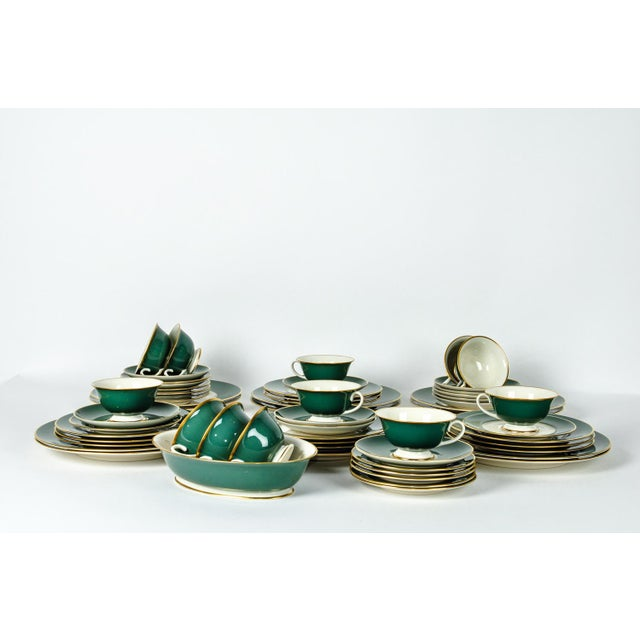 Contemporary Franciscan Dinnerware for 12 For Sale - Image 3 of 10