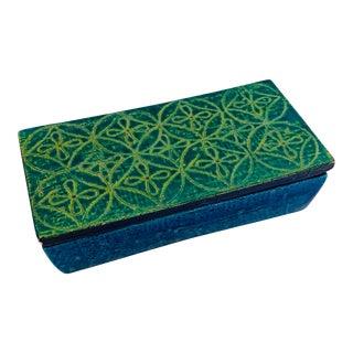 Bitossi Rosenthal Netter Ceramic Lidded Smoking Box For Sale