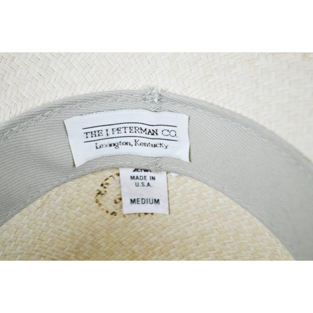 Vintage Genuine Hand-Woven Panama Hat - Image 9 of 10