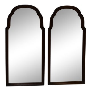 Ethan Allen Georgian Court Cherry Wall Mirrors - a Pair For Sale
