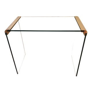Late 20th Century Vintage Waterfall Design Side Table by Pace Collection For Sale