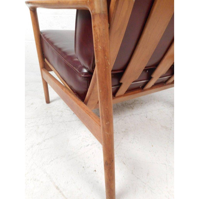 1960s Mid-Century Modern Danish Teak Lounge Chair For Sale - Image 5 of 10