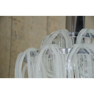 1970s Murano Interlocking Hand Blown Murano Glass Chandelier Preview