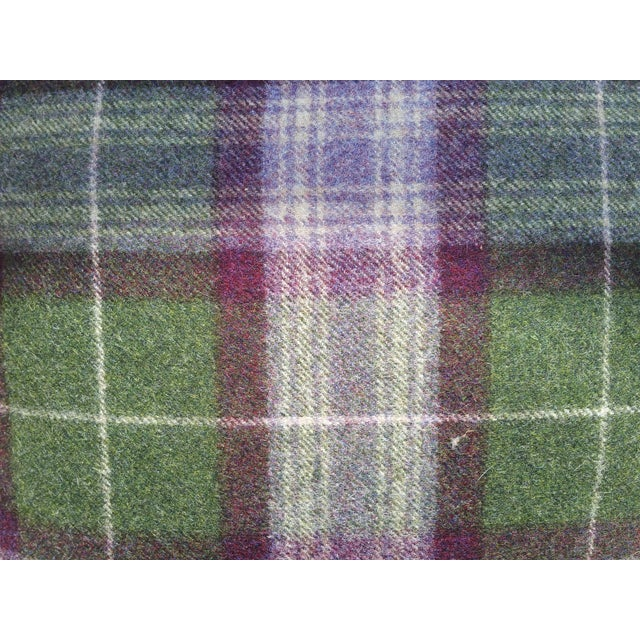 Scottish Plaid Pillows - Pair - Image 3 of 5