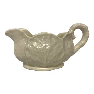Ironstone China Cabbage Design Creamer For Sale