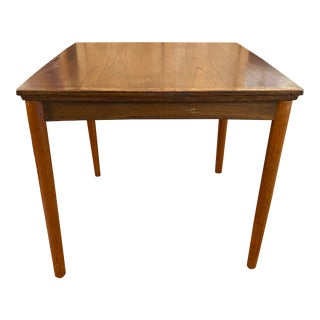 Mid 20th Century Danish Extension Games Table For Sale
