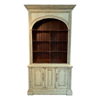 Habersham Marseille Open Buffet a Deux Corps Bookcase For Sale