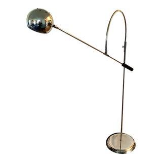 Robert Sonneman 'Orbiter' Chrome Floor Lamp For Sale