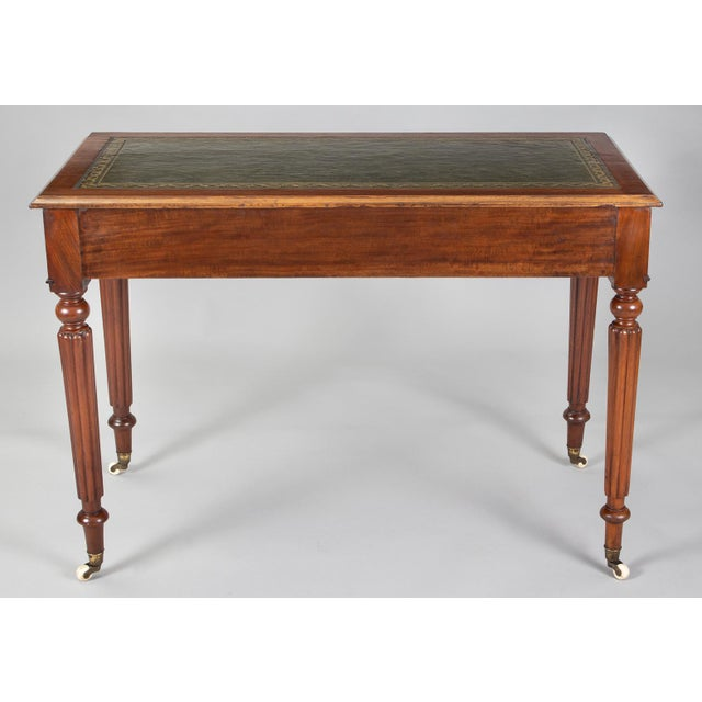 Late Regency Mahogany Small Writing Table, Circa 1830 For Sale - Image 4 of 11