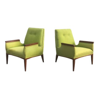 Mid-Century Modern Lounge Chairs- a Pair For Sale