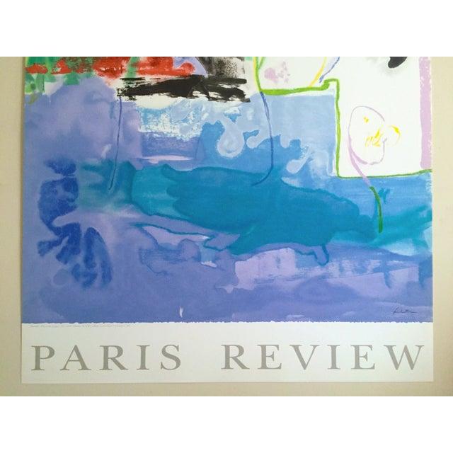 "Abstract Helen Frankenthaler Rare Ltd Edtn Hand Pulled Original Silkscreen Print "" West Wind "" 1996 For Sale - Image 3 of 13"