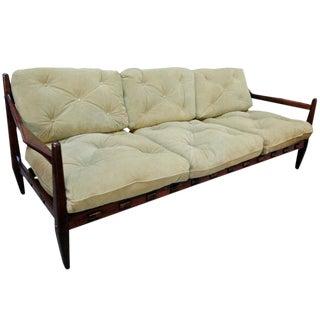 Jean Gillon Brazilian Jacaranda Sofa For Sale