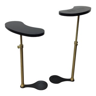 Vintage Kidney Bean Tables - a Pair For Sale