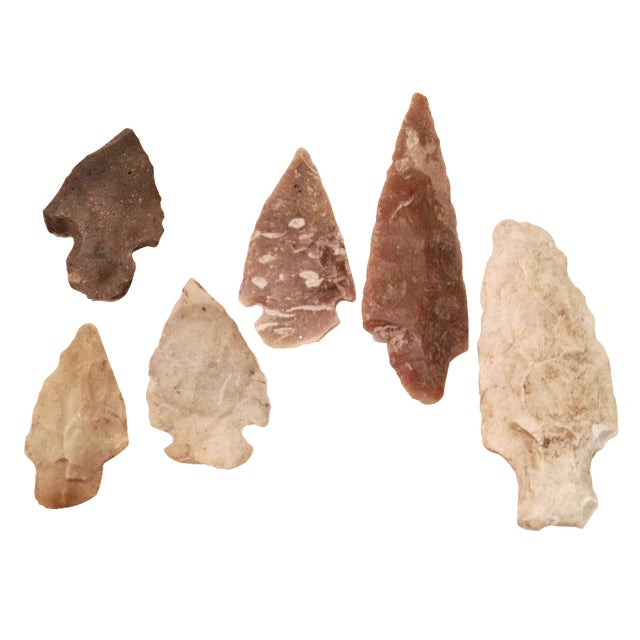 East Texas Arrowheads - Set of 6 - Image 1 of 4