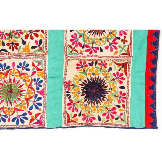 Large Vintage Dowry Textile, Gujarat India - Image 3 of 5