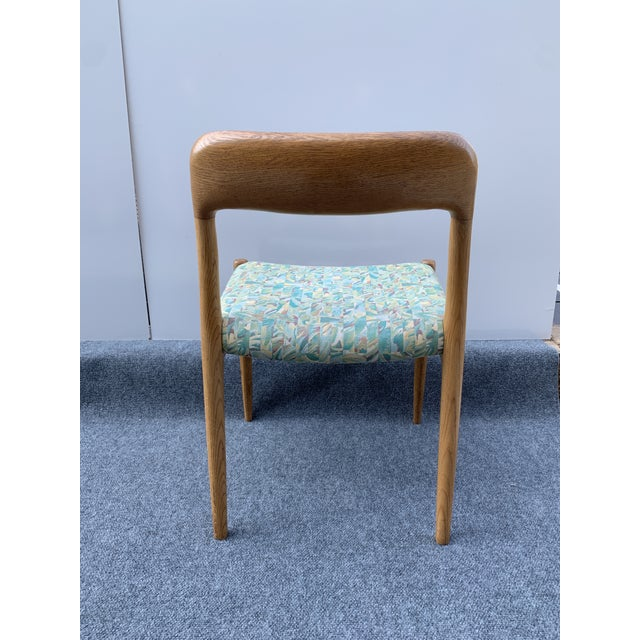 1960s Danish Side Chair by j.l. Moller for Højbjerg For Sale In Charlotte - Image 6 of 12