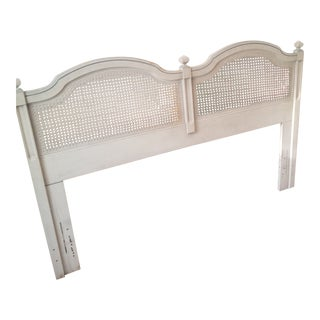1970s French Provincial Dixie Double/ Queen Headboard For Sale