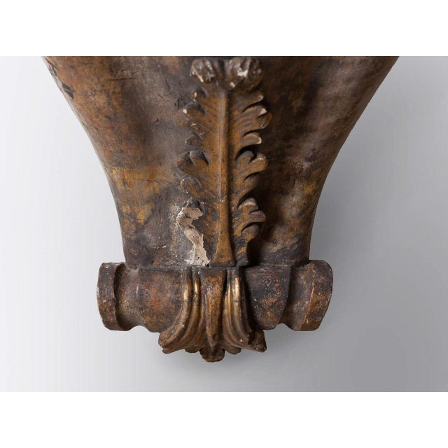 Antique wall mounted pedestal. Perfect for the hallway or dining area.