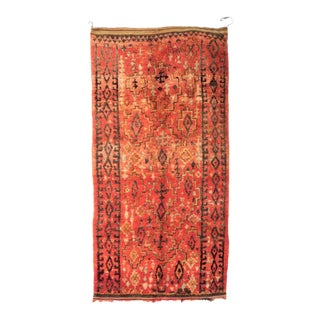 Vintage Moroccan Talsint Rug - 6′3″ × 11′4″ For Sale