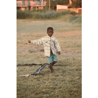 """Contemporary Photography """"Flying Kite"""" by Douglas Condzo For Sale"""