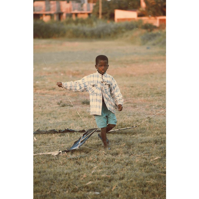 "Contemporary Photography ""Flying Kite"" by Douglas Condzo For Sale"
