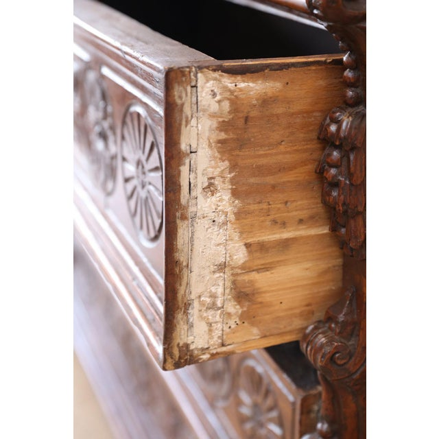 Iron 17th Century Chest-Of-Drawers For Sale - Image 7 of 12