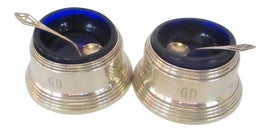 Image of Sterling Silver Salt and Pepper Shakers