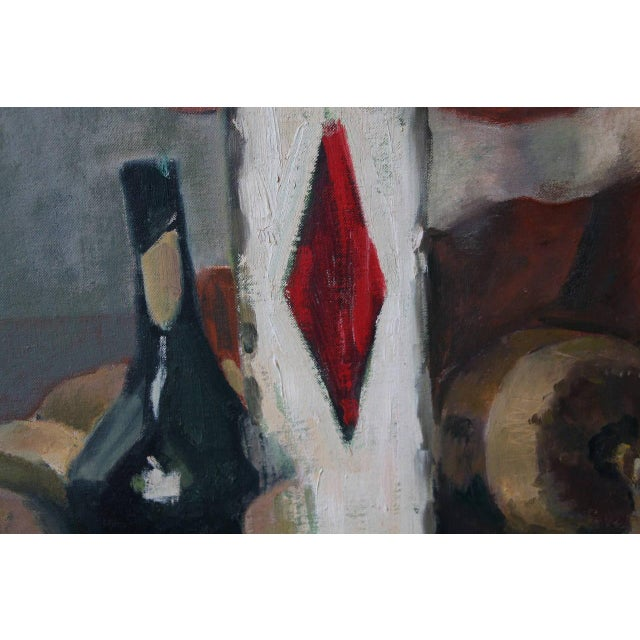 Contemporary Still Life Oil Painting by Eileen Goodman For Sale - Image 3 of 10