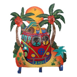 Delightful Caribbean Painted Wall Hooks