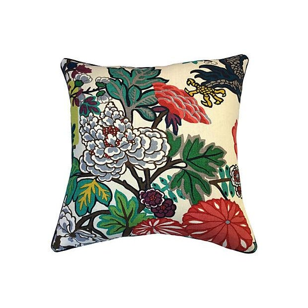 Schumacher Chiang Mai Dragon Pillow - Image 5 of 5