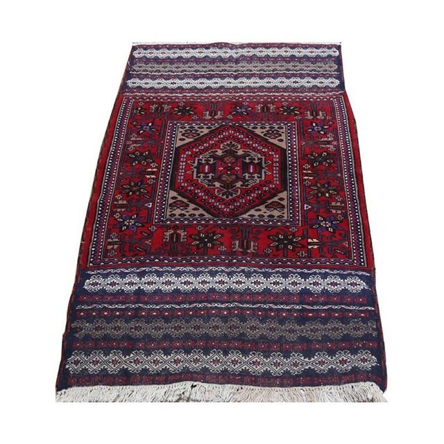 Islamic Persian Ghochan Tribal Rug - 3' x 5' For Sale - Image 3 of 6