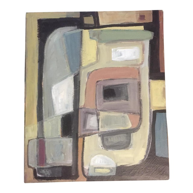 Original Stewart Ross Abstract Painting For Sale