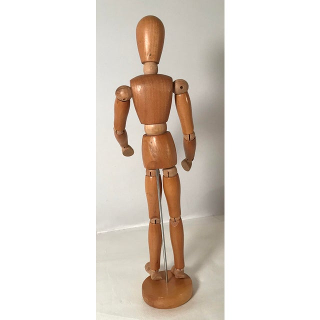 Expressionism 20th Century Figurative Artist Model of Articulating Man For Sale - Image 3 of 11