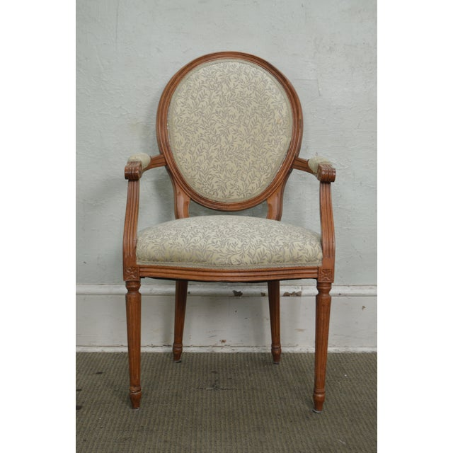 STORE ITEM #: 15477 Statesville Chair Co. Set of 10 Walnut Frame French Louis XV Style Dining Chairs AGE/COUNTRY OF ORIGIN...