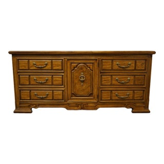 Thomasville Furniture Patriarch Collection Triple Door Dresser For Sale
