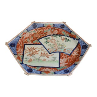 Late 19th Century Japanese Platter For Sale
