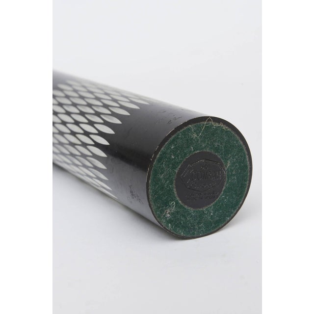 Graphic Diamond Patterned Vase or Pen Holder For Sale In Miami - Image 6 of 8