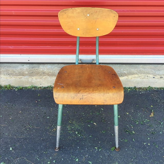 Brown Mid Century Modern Bentwood Chair For Sale - Image 8 of 11